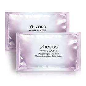 แพ็คคู่ Shiseido White Lucent Power Brightening Mask (2pcs)