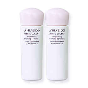 แพ็คคู่ Shiseido White Lucent Brightening Balancing Softener W Lotion (25ml x2)