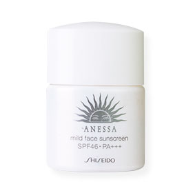 Shiseido Anessa Mild Face Sunscreen SPF46PA+++ 12ml (No box)