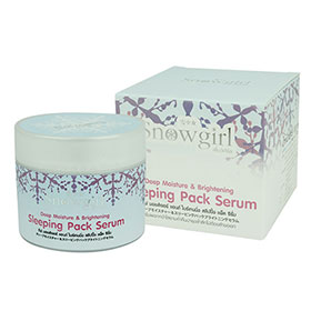Snowgirl Deep Moisture & Brightening Sleeping Pack 100g