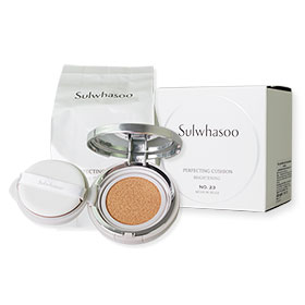Sulwhasoo Perfecting Cushion Brightening SPF50+/PA+++ #23 Medium Beige (15g x 2)