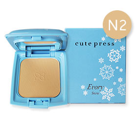 Cute Press Evory Snow Whitening & Oil Control Foundation Powder SPF 30 PA++  # N2 (12g)