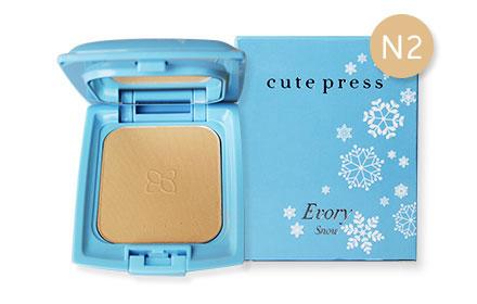 Cute Press Evory Snow Whitening & Oil Control Foundation Powder SPF 30 PA++  # N2 (12g)