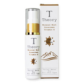 Theory Mineral Mist Sunscreen Vitamin E SPF 50++ 25ml