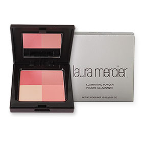 Laura Mercier Illuminating Powder #Coral Red Quad 10g
