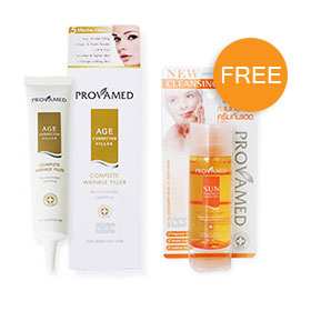 Provamed Age Corrector Filler 30ml  Free  Provamed Sun Perfect Cleansing Water 50ml