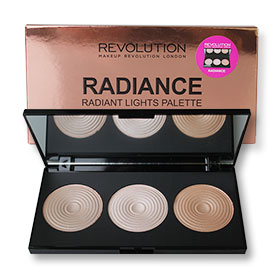 Makeup Revolution Radiance 3 Radiant Lights Highlighters 15g