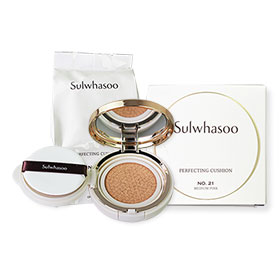 Sulwhasoo Perfecting Cushion SPF50+/PA+++ #21 Medium Pink 30g (15gx2)