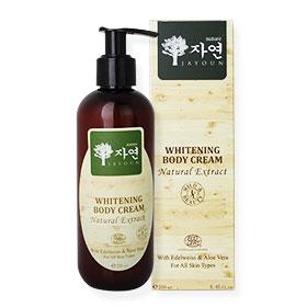 Jayoun Whitening Body Cream With Edelweiss Vitamin C & Aloe Vera (250ml)