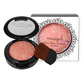 Mivagirl Kiss Kiss Velvet Color Blusher #M-04-04