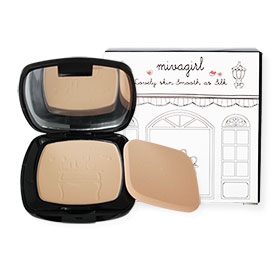 Mivagirl Lovely Skin Smooth As Silk Powder Cake #M-02-03