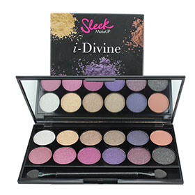 Sleek i-Divine Mineral Based Eye Shadow Palette #Vintage Romance