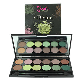 Sleek i-Divine Mineral Based Eye Shadow Palette #Garden Of Eden 447