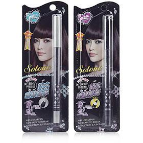Set Solone Gel Eyeliner Pencil #สี Black & Silver
