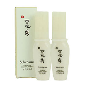 แพ็คคู่ Sulwhasoo Luminature Essential Finisher Set (8mlx2) (No Box)
