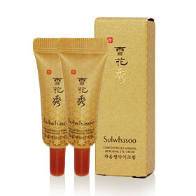 แพ็คคู่ Sulwhasoo Concentrated Ginseng Renewing Eye Cream (3ml x2) (No Box)