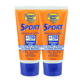 ซื้อ 1 แถม 1 Banana Boat Sport Sunscreen Lotion SPF110PA+++ 90ml