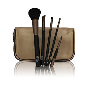 Beauty Buffet Beauty Cottage Brush Bag (5 Items)