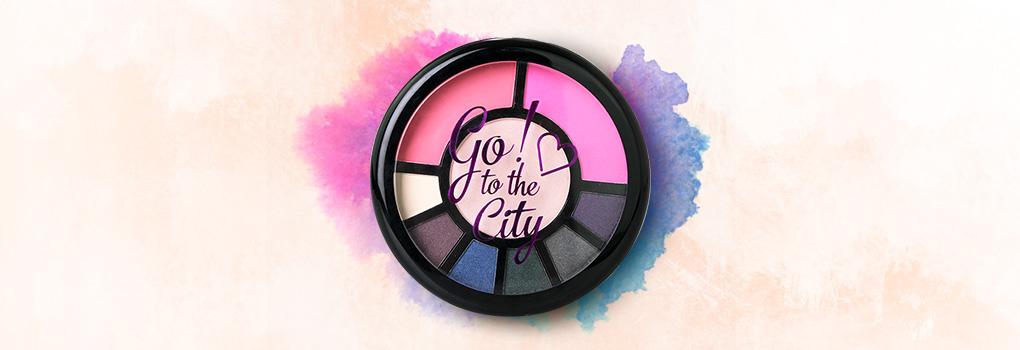 Makeup Revolution Makeup Go! Palettes Go! To the City! 16g