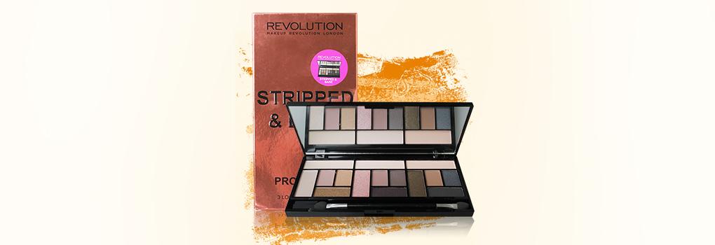 Makeup Revolution Stripped & Bare 3 Looks In 1 Palette 13g