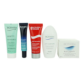 Biotherm Blue Therapy Gift Time Set 5 Items with Homme High Recharge
