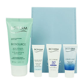 Biotherm Biosource Set 4 Items with Mirror