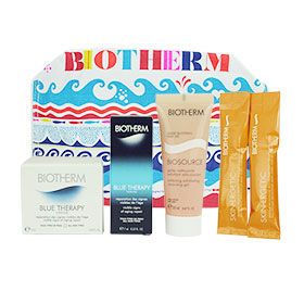 Biotherm Blue Therapy Christmas 2014 Set 4 Items with Purse