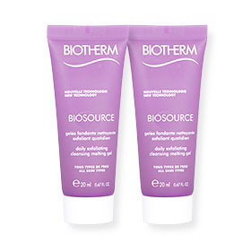แพ็คคู่ Biotherm Biosource Daily Exfoliating Cleansing Melting Gel (20ml x2)