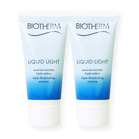 แพ็คคู่ Biotherm Liquid Light Triple illumination Essence (5ml x2)