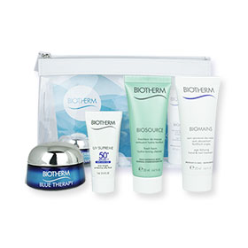 Biotherm Blue Therapy Gift Time Set 4 Items