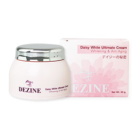 Dezine Daisy White Ultimate Cream Whitening & Anti-Aging 30g