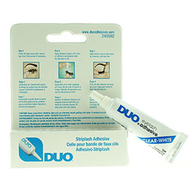 DUO Striplash Adhesive #Clear White 7g(Blue)