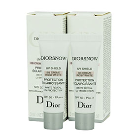 แพ็คคู่ DIORSNOW UV Shield BB Creme Rosy White SPF50-PA+++ (3ml x2)