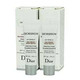 แพ็คคู่ DIORSNOW UV Shield BB Creme Rosy White SPF50-PA+++ (3ml x2)