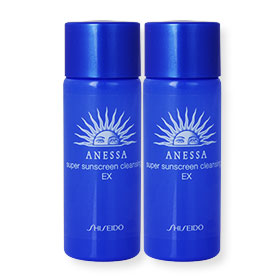 แพ็คคู่ Shiseido Anessa Super Sunscreen Cleansing EX (20ml x2)