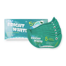 Z.A.P Bright White Teeth Whitening Mask #Mint 7pcs