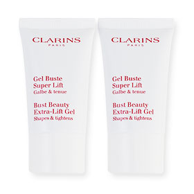 แพ็คคู่ Clarins Bust Beauty Extra-Lift Gel Shapes & Tightens (15ml×2)