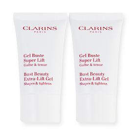 แพ็คคู่ Clarins Bust Beauty Extra-Lift Gel Shapes & Tightens (15ml×2)