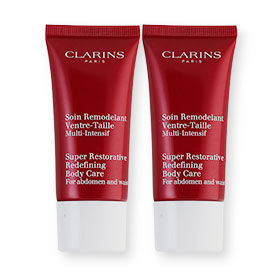 แพ็คคู่ Clarins Super Restorative Redefining Body Care (30ml×2)
