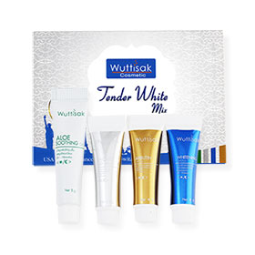 Wuttisak Tender White Set 4 Items