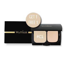 ซื้อ1แถม1 Wuttisak Flawless Perfection Clear Power SPF25 PA++ #C1 (10gx2)