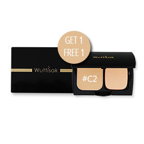 ซื้อ1แถม1 Wuttisak Flawless Perfection Clear Power SPF25 PA++ #C2 (10gx2)