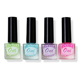 Oni Nail Lacquer Pastel Set 4 Colors (#1 2 3 4)