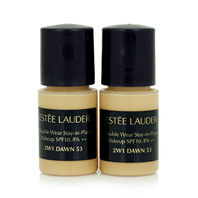 แพ็คคู่ Estee Lauder Double Wear Stay-in-Place Makeup SPF10/PA++ (3ml x2) #2W1 Dawn 53
