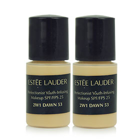 แพ็คคู่ Estee Lauder Perfectionist Youth-Infusing Makeup SPF/FPS25 #2W1 Dawn53 (3ml x2)