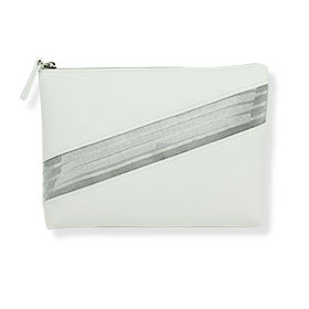 Estee Lauder White Cosmetic Bag
