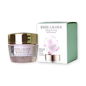 Estee Lauder Resilience Lift Firming Sculpting Face And Neck Creme SPF15 15ml (with box)