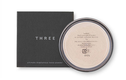 THREE Ultimate diaphanous Loose Powder 17g #Translucent 01