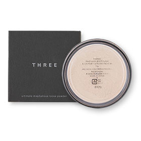 THREE Ultimate diaphanous Loose Powder 17g #01