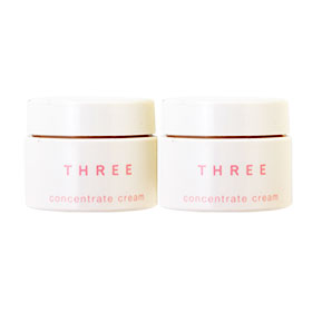 แพ็คคู่ THREE Concentrate Cream (4g x2)
